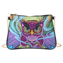 Load image into Gallery viewer, DIY Owl Special Shaped Diamond Leather body Bags