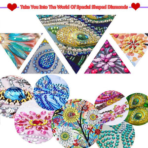 March 5D DIY Special Shape Diamond Painting