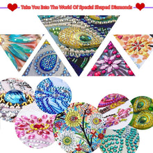 Load image into Gallery viewer, July 5D DIY Special Shaped Diamond Painting