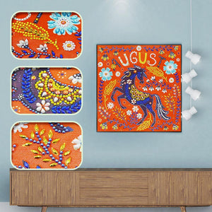 August 5D DIY Special Shaped Diamond Painting