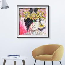 Load image into Gallery viewer, Beauty 5D DIY Special Shaped Diamond Painting