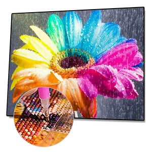 Colorful Flower - Full Diamond Painting - 40x30cm