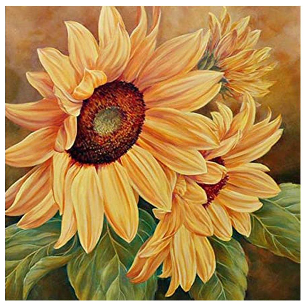 Sunflower - Full Diamond Painting - 30x30cm