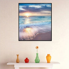 Load image into Gallery viewer, Sunrise Beach - Full Diamond Painting - 30x40cm