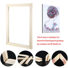 Load image into Gallery viewer, 40x50cm Wooden DIY Painting Frame