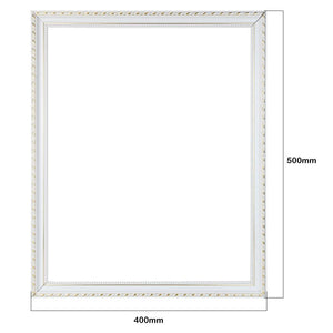 White PC DIY Painting Frame 40x50cm