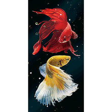 Load image into Gallery viewer, Fish Pictureations - Full Round Diamond - 45x85cm