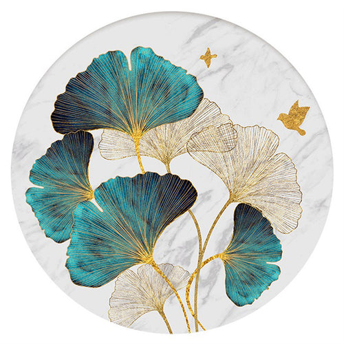 Lotus Leaf - Full Round Diamond - 40x40cm
