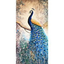 Load image into Gallery viewer, Peacock 5D DIY Full Special Shape Drill Diamond Painting Crafts (MY008)