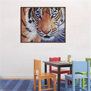 Special Shaped Tiger Special Shaped Paintings