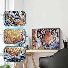 Load image into Gallery viewer, Special Shaped Tiger Special Shaped Paintings