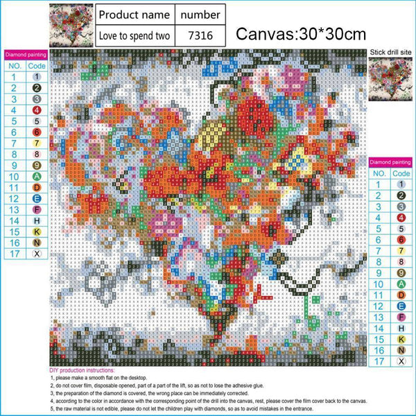 Mosaic Kit Partial Drill Paintings