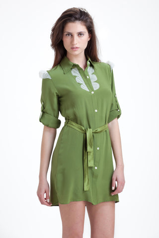 Combo Shirtdress