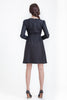 Kremlin Dress - Black with Black Combo