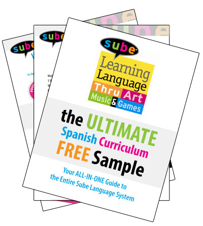 Is Sube Spanish Right for You? Ten Samples from the Kit to Help