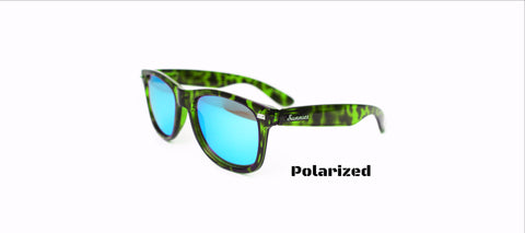 Polarized Green Tort/ Ice: 2.0s