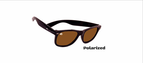 Polarized Jet Black/ Bronze: 2.0s