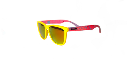 Yellow / Flare Retro Specs