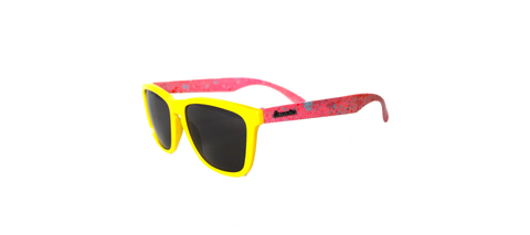 Yellow / Smoke Retro Specs