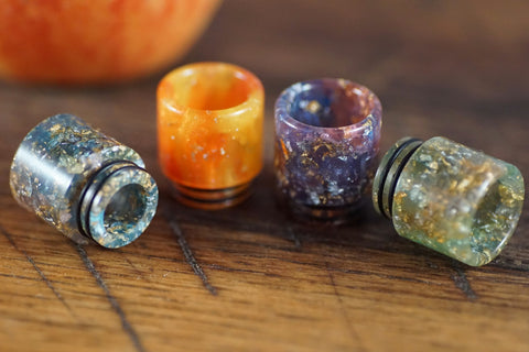 Super wide geode drip tip