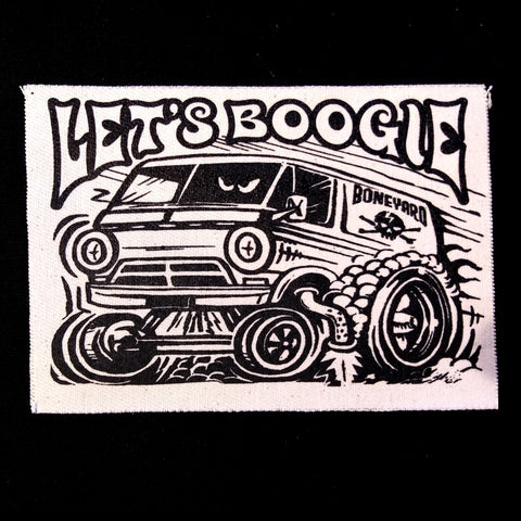 Let's Boogie Burnout Small Patch