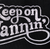 Keep on Vannin' Small Patch (1970's font with swoosh)