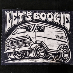 Let's Boogie Backpatch (Ford Econoline)