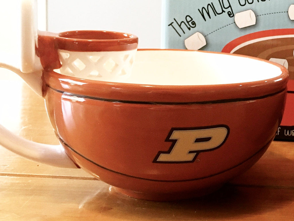 Purdue - NCAA MAX'IS Basketball Hoop Mug by Boelter Brands