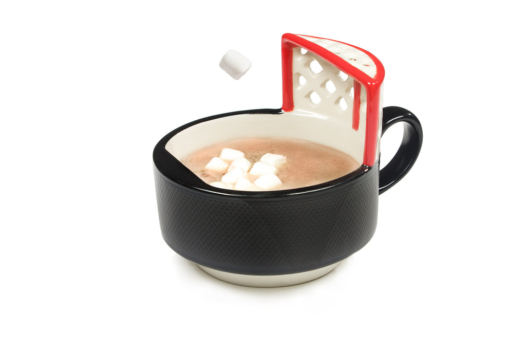 The Hockey Mug With A Net!®