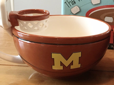 University of Michigan - NCAA MAX'IS Basketball Hoop Mug by Boelter Brands