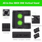 XBOX Vertical Stand with Cooling Fan and Charging Dock