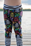 Rainbow Skulls Star Wars Grow-With-Me Pants