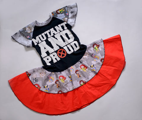Mutant & Proud Twirly Dress