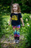 Rainbow Star Wars Grow-With-Me Pants
