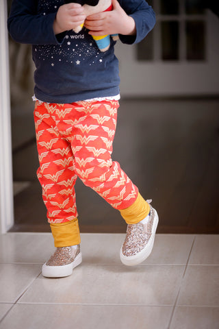 Wonder Woman Grow-With-Me Pants