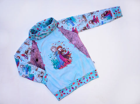 Frozen Sisters Collared Pullover
