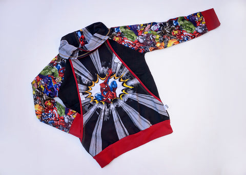 Webslinger Collared Pullover