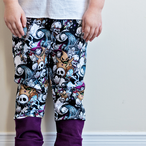 Nightmare Before Christmas Grow-With-Me Pants