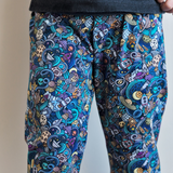 Space Doodles Grow-With-Me Pants
