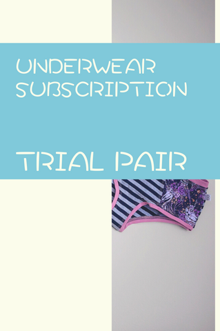 Monthly Underwear Subscription - Trail Pair