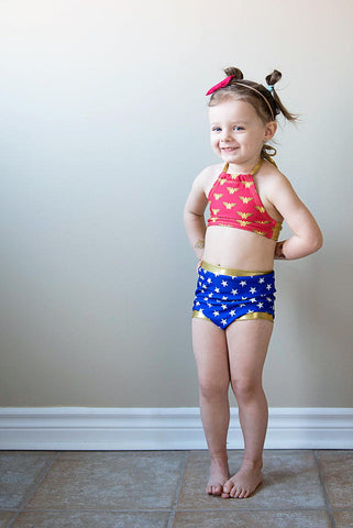 Retro Wonder Woman Bikini