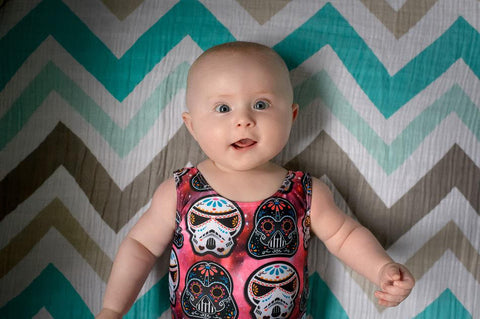 Star Wars Sugar Skulls One Piece Swimsuit