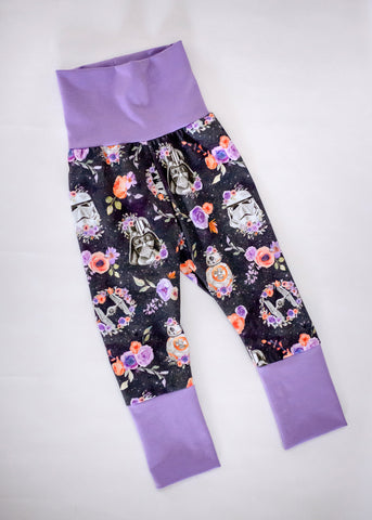 New Floral Wars Grow-With-Me Pants