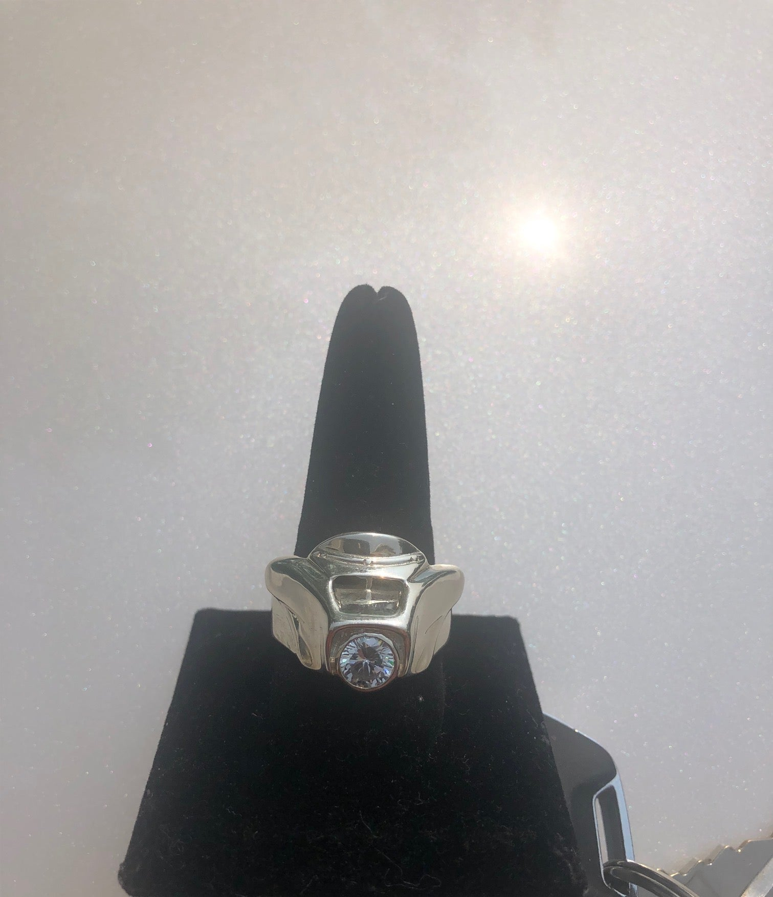 One Stone Fairing Ring