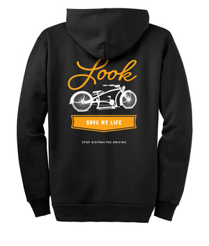 Hoodie Zip-Up Bike