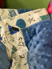 Burp and Swaddle Blankets