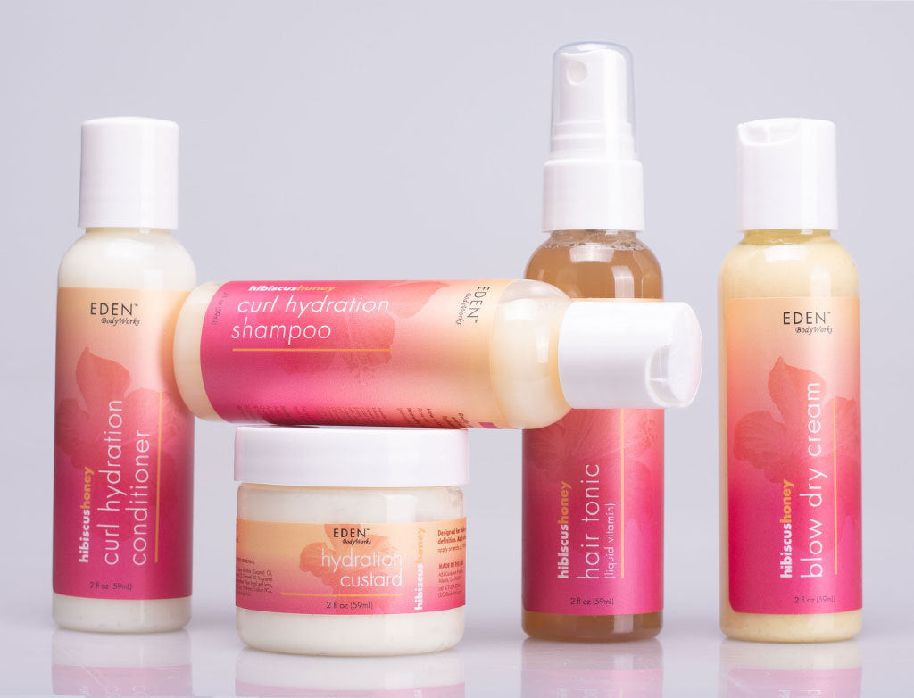 Hibiscus Honey Travel Set - EDEN BodyWorks