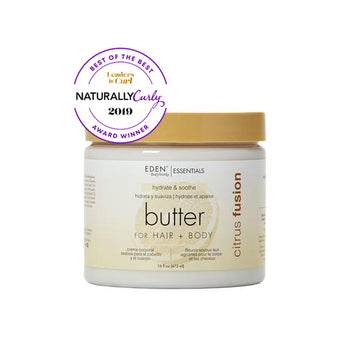 Naturally Curly Award Winner - Citrus Fusion Hair + Body Butter