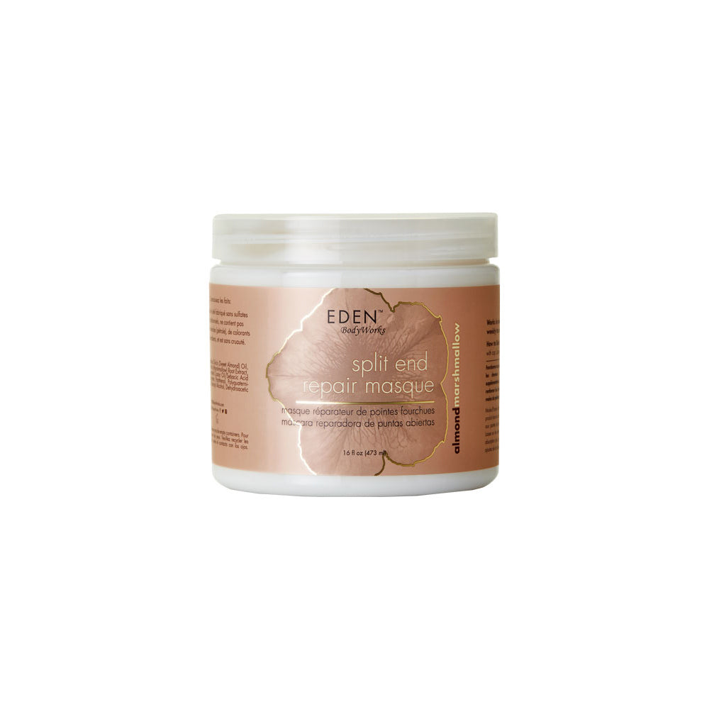 Almond Marshmallow Split End Repair Masque - EDEN BodyWorks