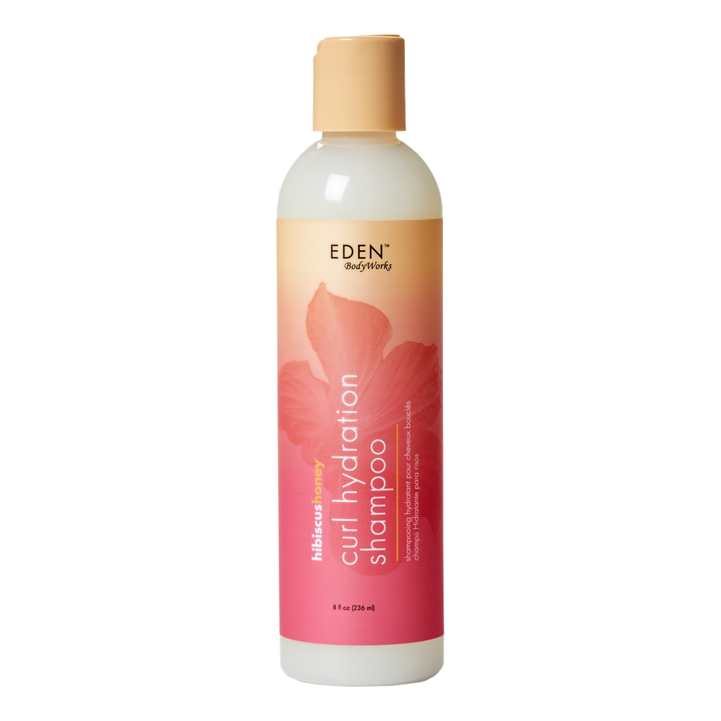 Hibiscus Honey Curl Hydration Shampoo - EDEN BodyWorks